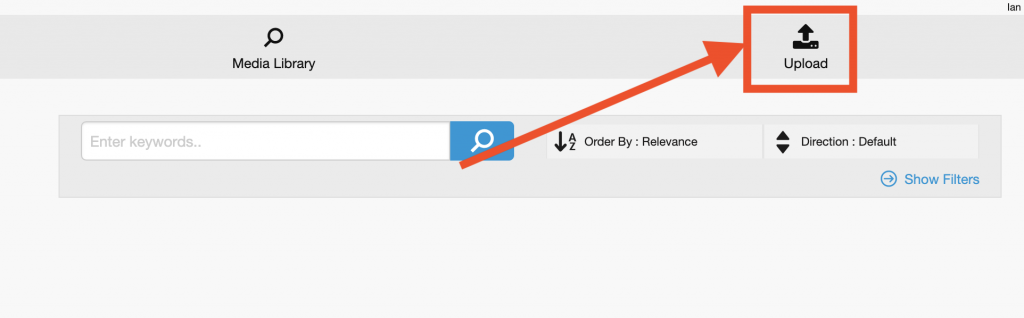 eStream - Moodle forum upload button