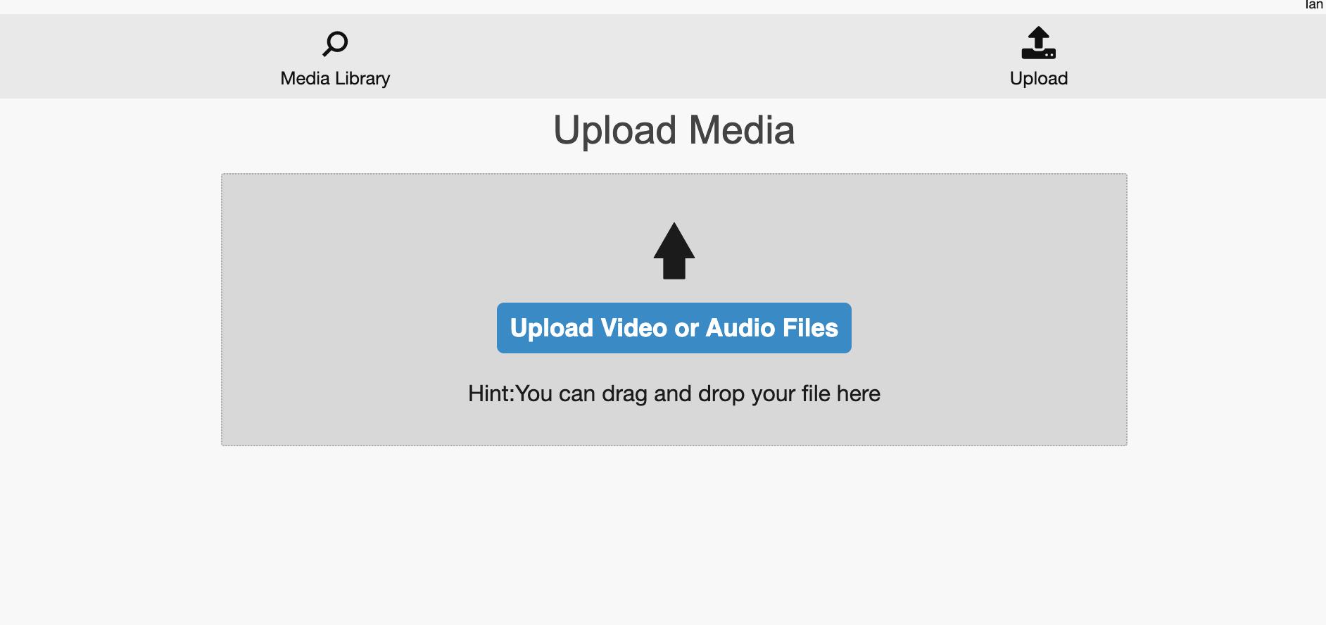 Moodle forum - upload video/audio files